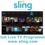 Sling TV – Watch Live TV Programming | www.sling.com
