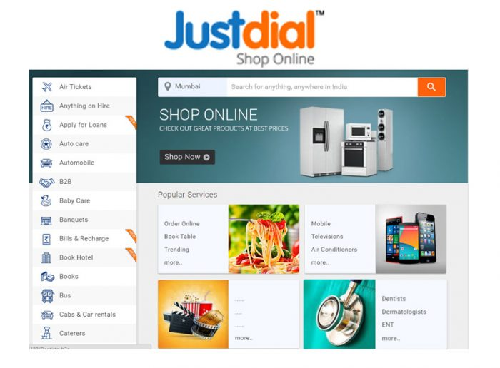 Just Dial - Local Search, Order Food, Travel, Movies, Online | Justdial.com