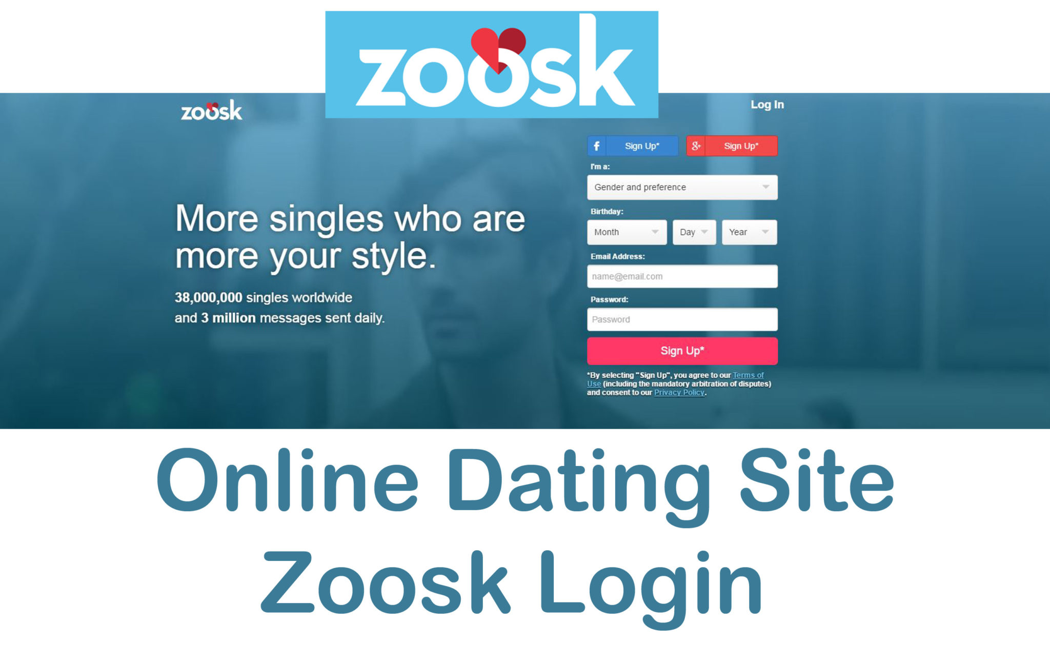 Zoosk online dating site