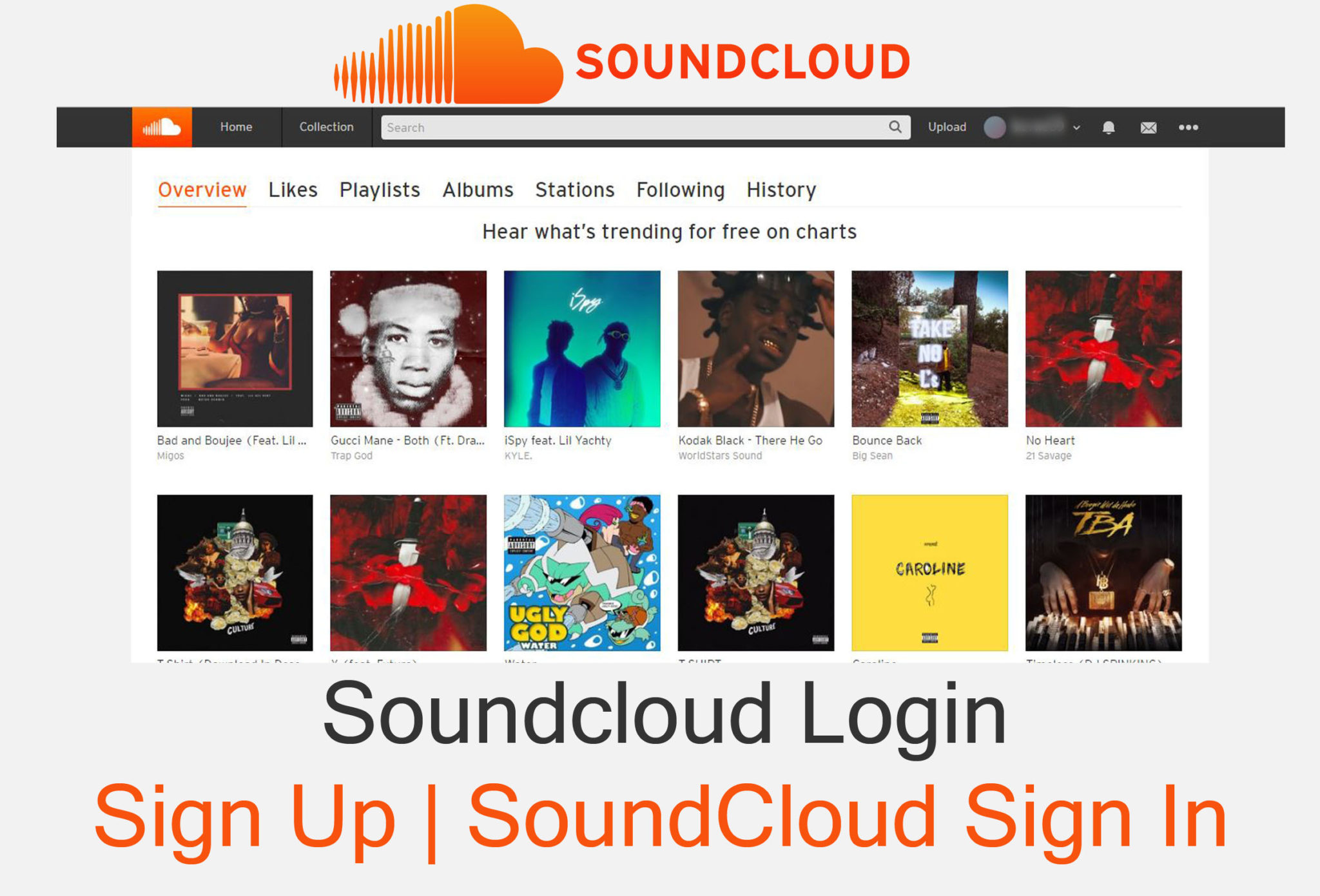 Soundcloud Login