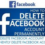Delete Facebook – Permanently Delete Facebook Account