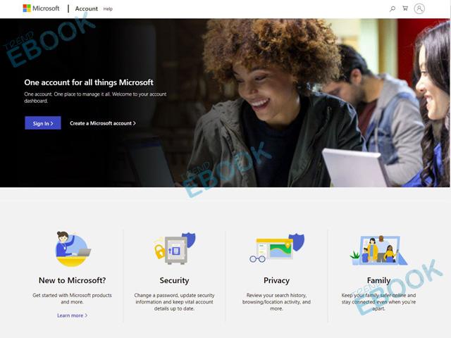 Microsoft Account - Creating a Microsoft Account | Microsoft Account Sign up