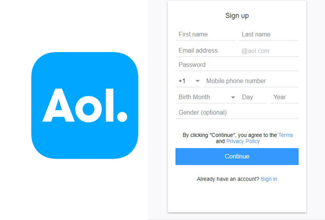 AOL Sign Up - How to Sign up for a Free AOL Mail Account