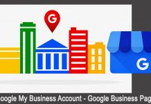 Google My Business Account - Google Business Page