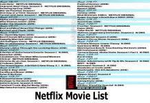 Netflix Movie List - How to Access the Netflix Movie List