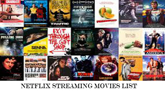 Netflix Streaming Movies List - Netflix Contents