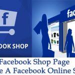 Facebook Shop Page – Create Facebook Online Store