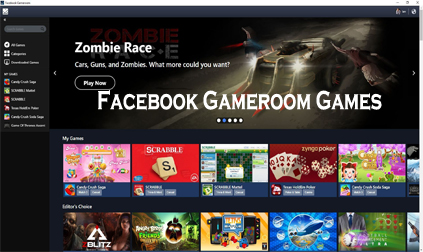 Facebook Gameroom Games - How to Access