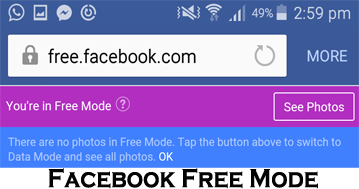 Facebook Free Mode - How to Access