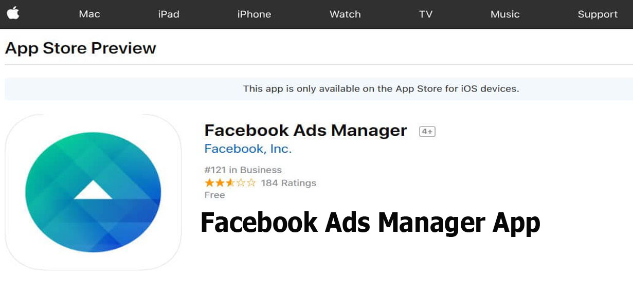 Facebook Ads Manager App – Facebook Ads Manager Account | Facebook Ads
