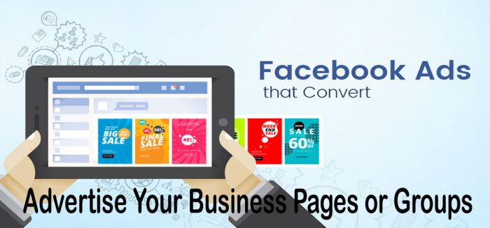 Advertise Your Business Pages or Groups