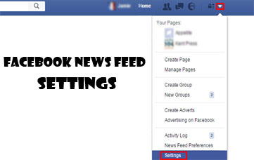 Facebook News Feed Settings - How to Access It
