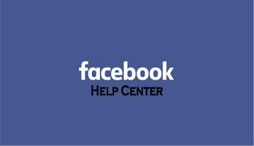 Facebook Help Center - how to Access Facebook Help