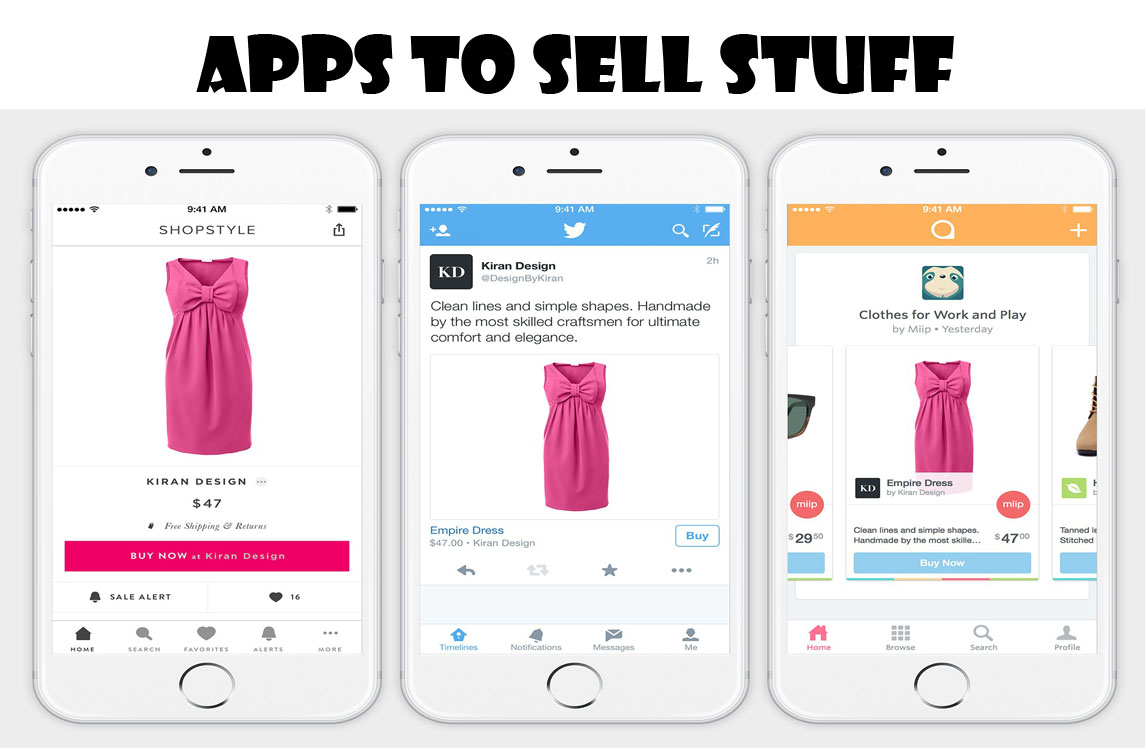 Apps to Sell Stuff - Online Selling Apps