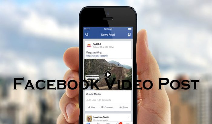 Facebook Video Post - Facebook Posts | Facebook Status