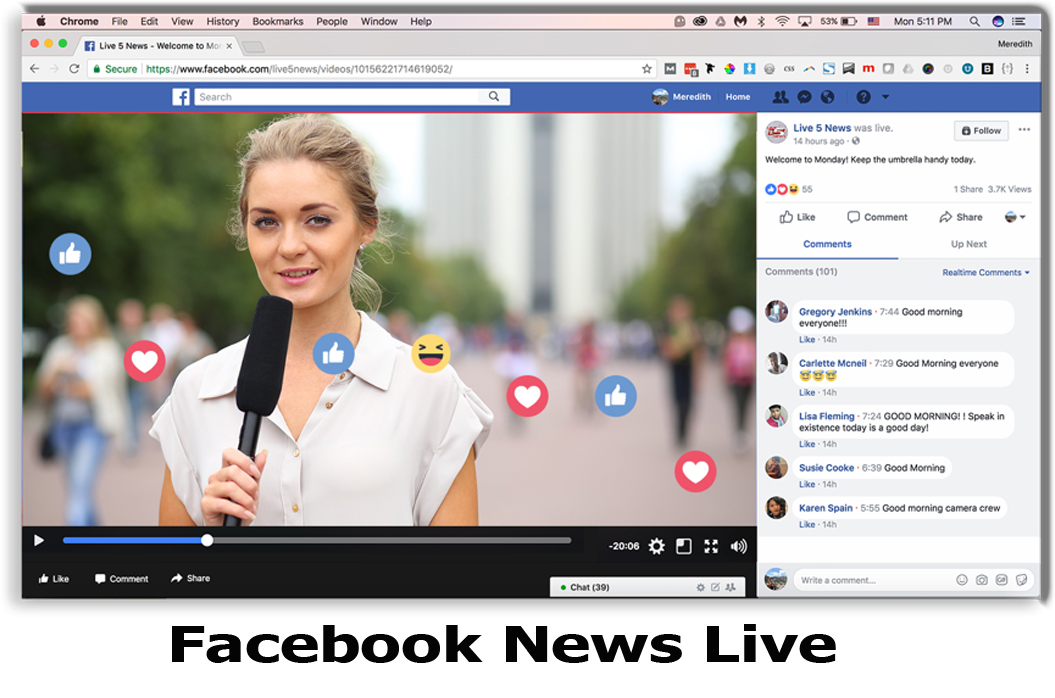 Facebook News Live – Facebook News Updates | Facebook News Feeds
