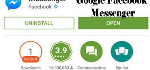 Google Facebook Messenger - The Messenger App