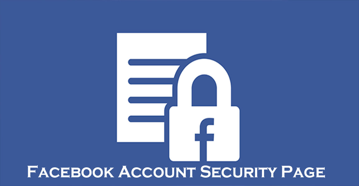 Facebook Account Security Page - Facebook Settings