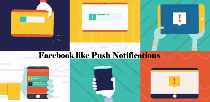 Facebook like Push Notifications - Turn On|Off Notifications