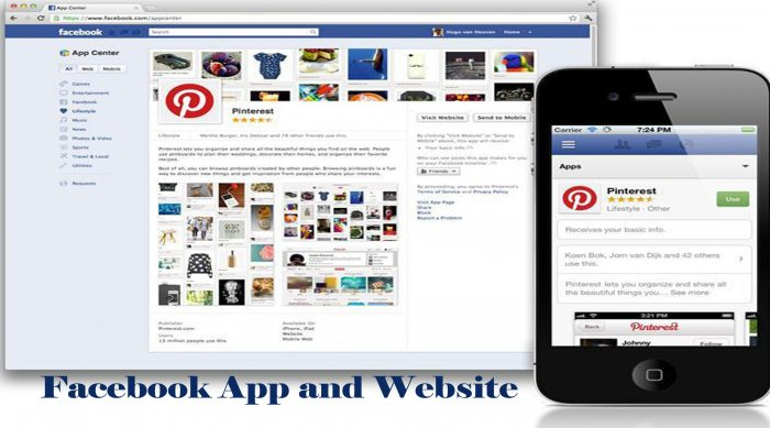Facebook App and Website - How to Access the Facebook App and Website
