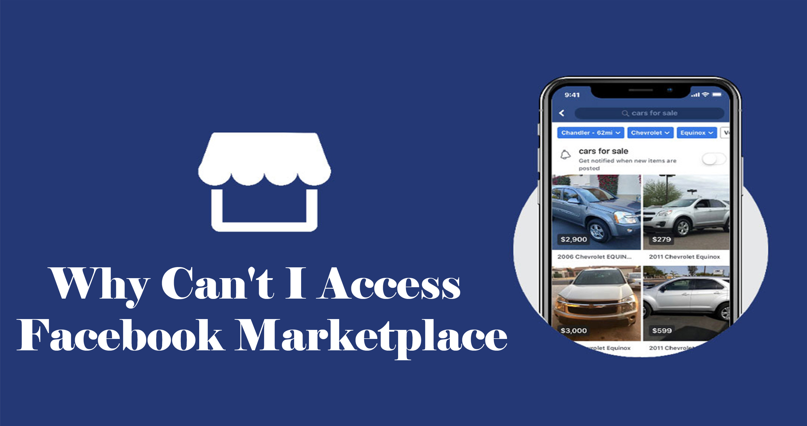 Why Can't I Access Facebook Marketplace – Facebook Buy and Sell