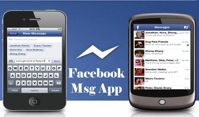 Facebook Msg App - Facebook Chat   Facebook Messenger