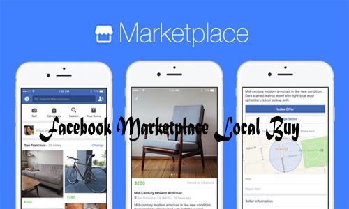 Facebook Marketplace Local Buy