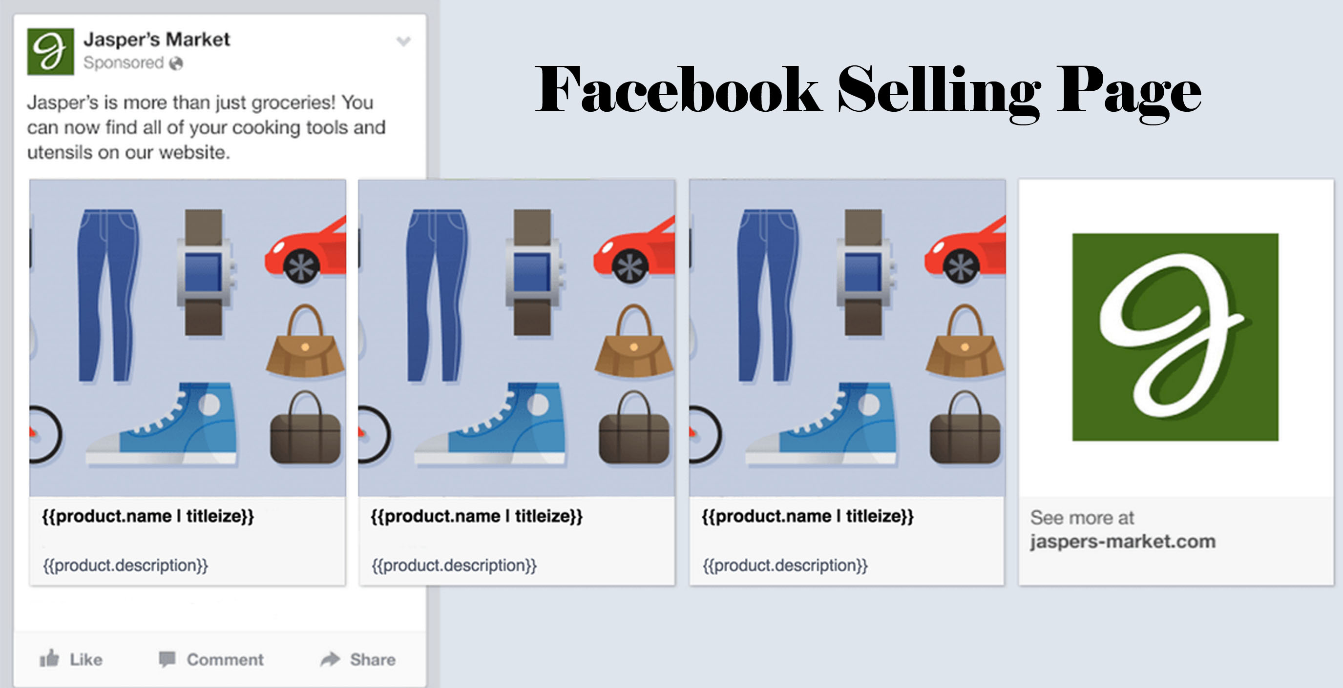 Facebook Selling Page – Facebook Page for Selling Items