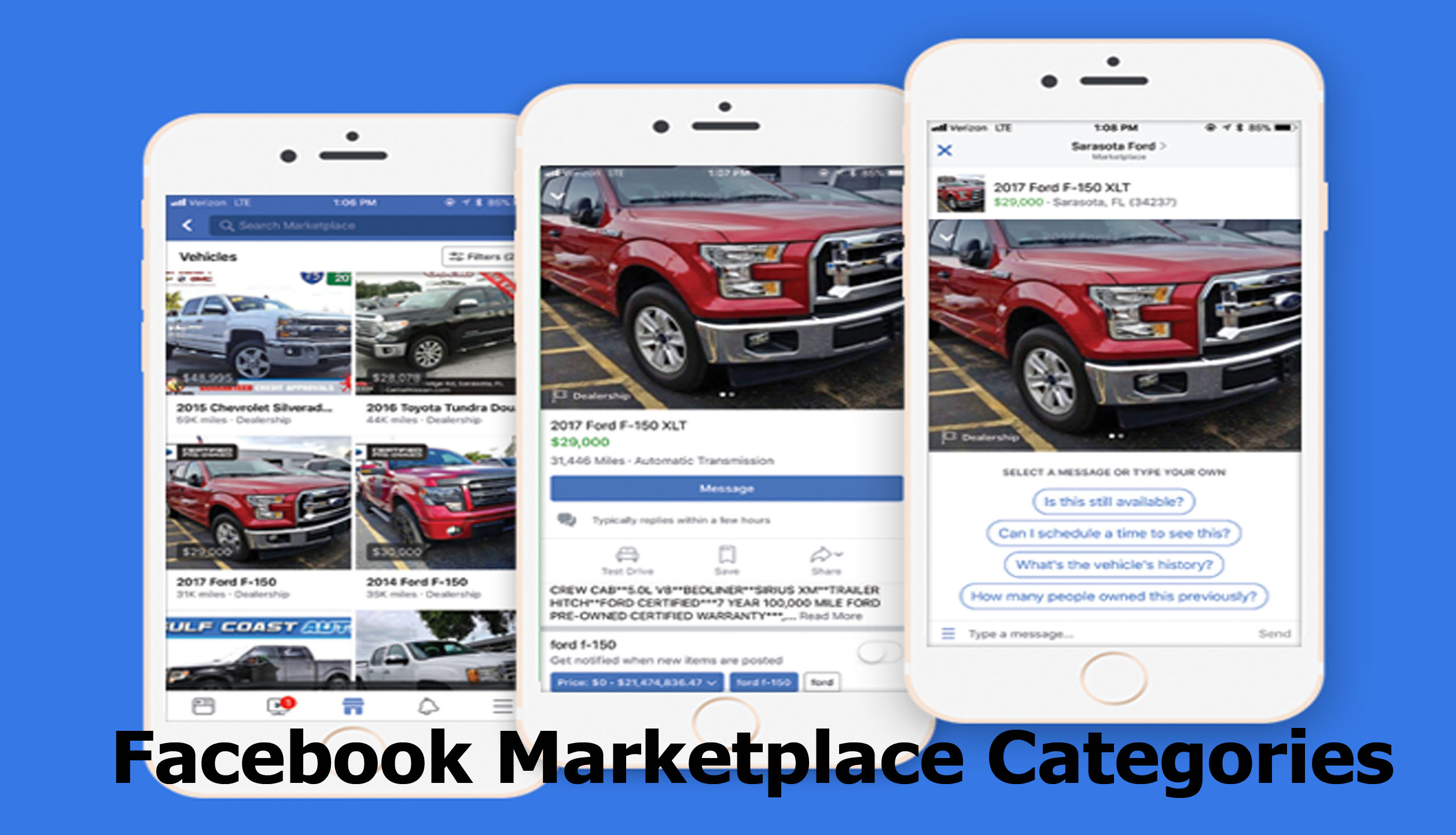 Facebook Marketplace Categories - What to Buy and Sell on Facebook Marketplace