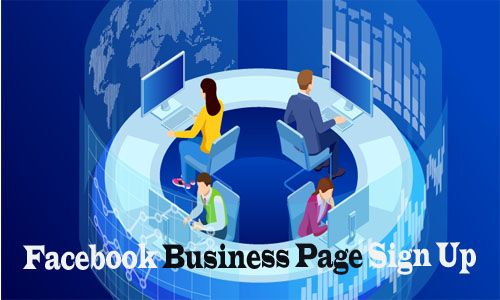 Facebook Business Page Sign Up