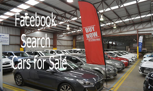 Facebook Search Cars for Sale