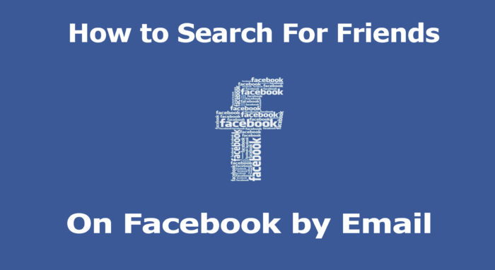 How to Search For Friends On Facebook by Email - Facebook Search Bar