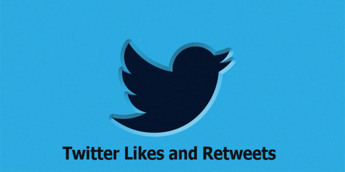 Twitter Likes and Retweets - Twitter Likes   Twitter Retweets