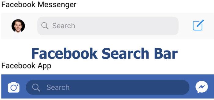 Facebook Search Bar - Search Bar on Facebook