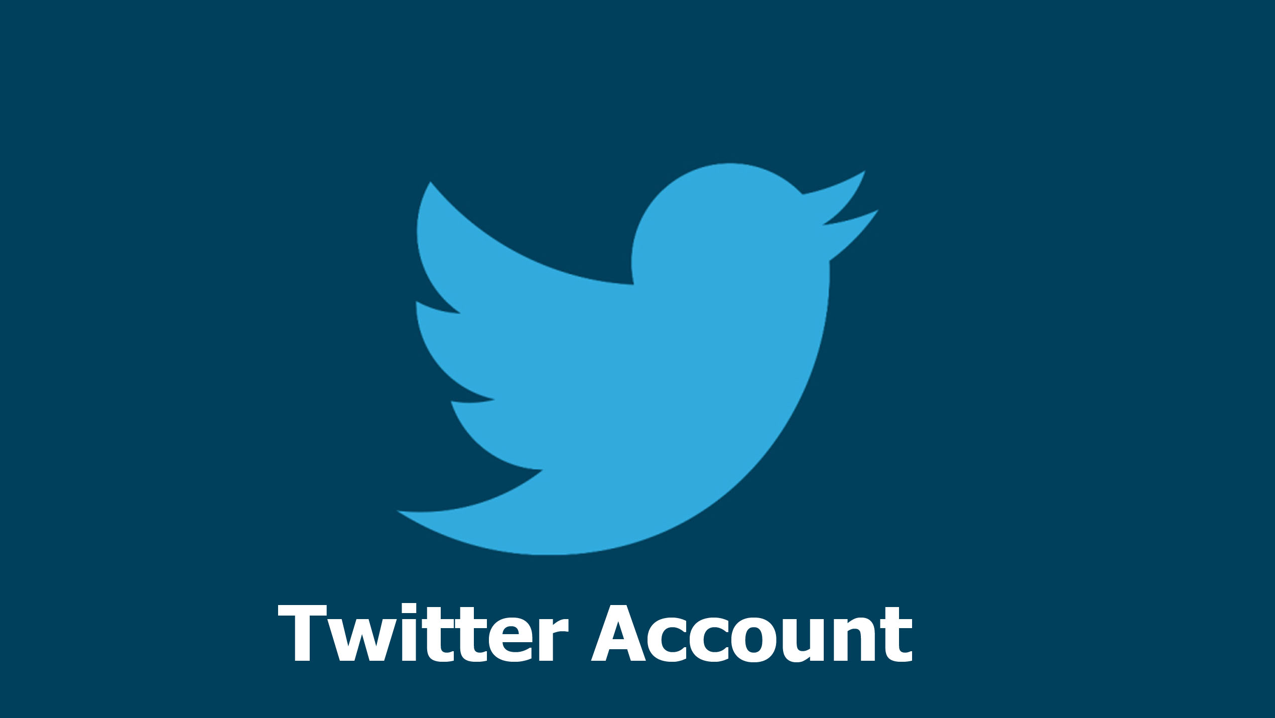 Twitter Account – Twitter Account How To Create