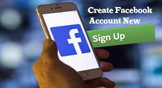 Create Facebook Account New