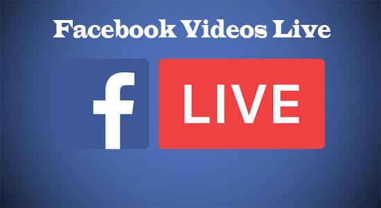 Facebook Videos Live