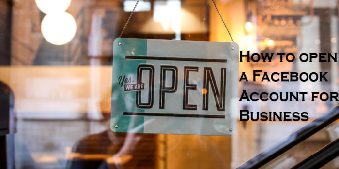 How to open a Facebook Account for Business - Facebook Business