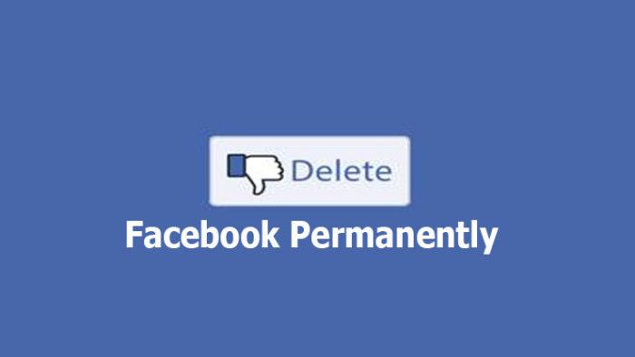 Delete Facebook Permanently - Deactivate Facebook Account