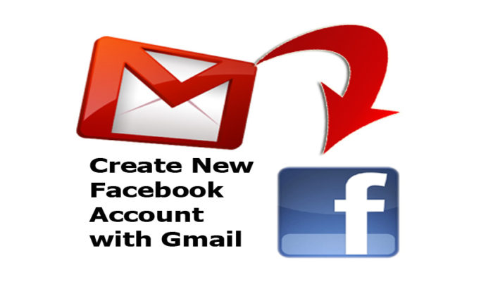 Create New Facebook Account with Gmail - Facebook Sign Up