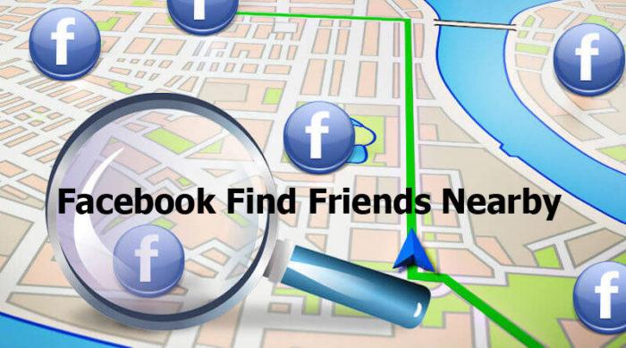 Facebook Find Friends Nearby - Facebook Search Bar