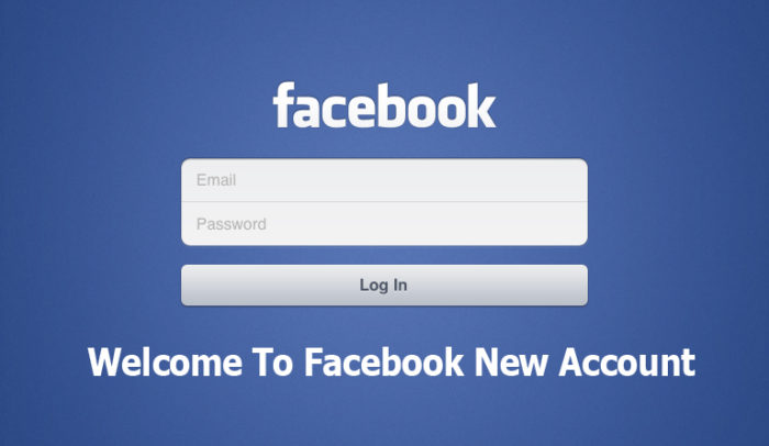 Welcome To Facebook New Account - Facebook New Account Set