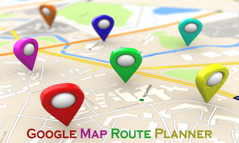Google Map Route Planner - Google Map Route