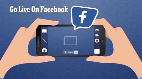 Go Live On Facebook