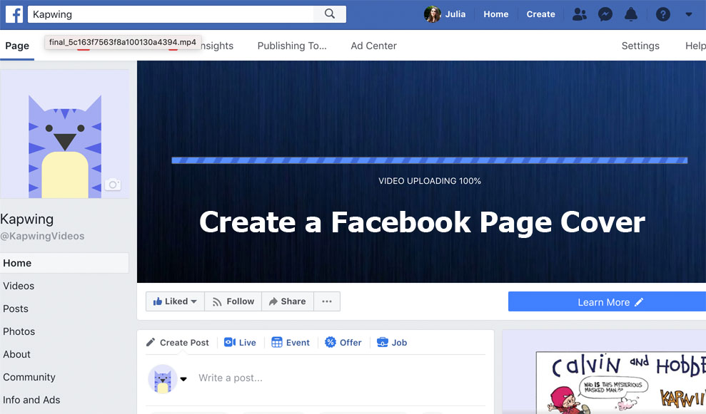Create a Facebook Page Cover - How to Create a Facebook Page Cover Successfully