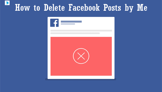 How to Delete Facebook Posts by Me – Delete Facebook Posts on Timeline| Delete a Thread on Facebook