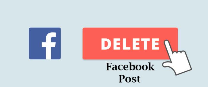 Delete Facebook Post - How to Delete Facebook Posts in Bulk
