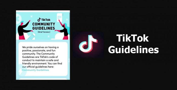 TikTok Guidelines - What are the TikTok Guidelines?