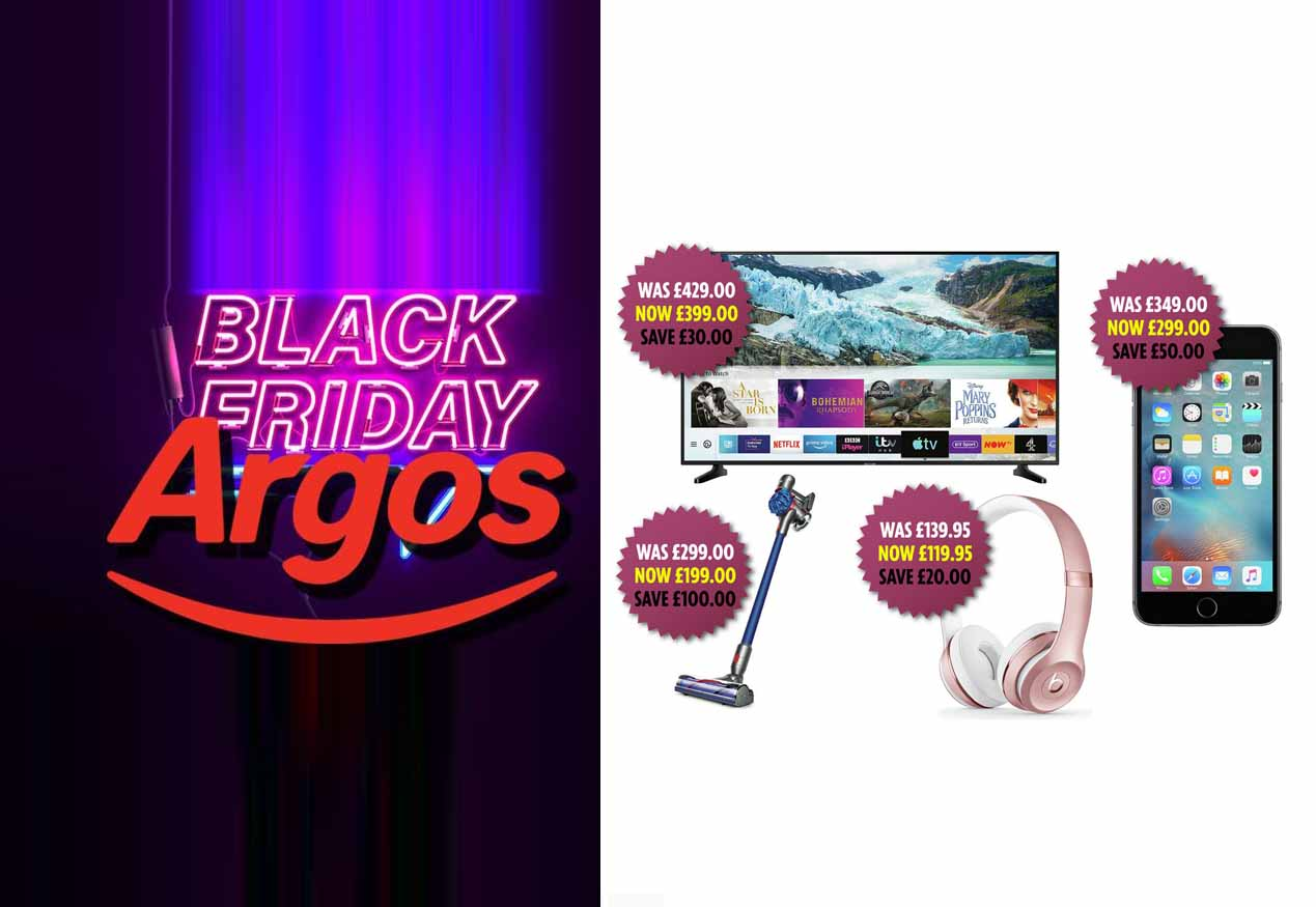 Argos Black Friday 2019 – Black Friday Deals on Argos