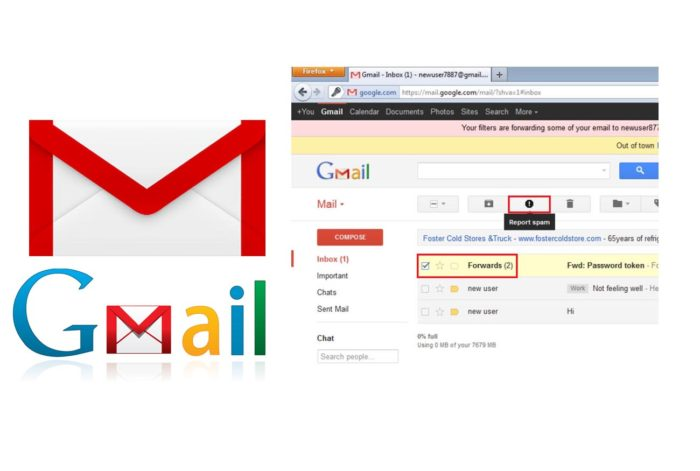 Gmail Report Spam - Report Spam Message on Gmail